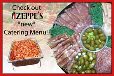 New Catering Menu Available!